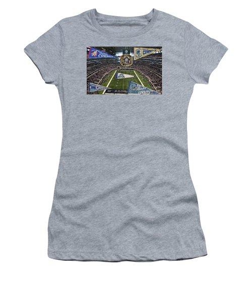 Cowboys Super Bowls Women's T-Shirt (Athletic Fit)