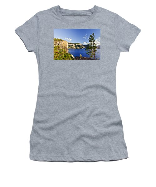 Crater Lake II Women's T-Shirt (Athletic Fit)