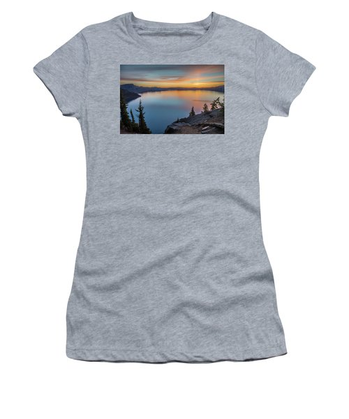 Crater Lake Morning No. 1 Women's T-Shirt