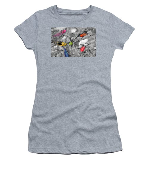 Create Your Own Happiness And Break Free Of The Grey Women's T-Shirt