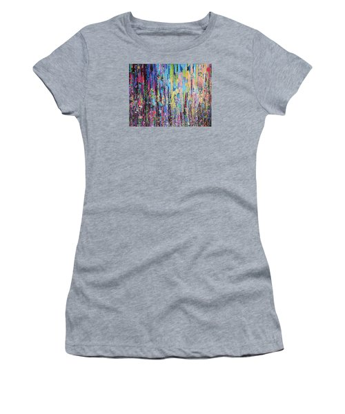 Creeping Beauty - Large Work Women's T-Shirt (Athletic Fit)