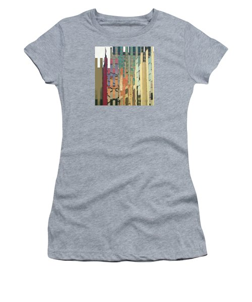 Crenellations Women's T-Shirt (Athletic Fit)