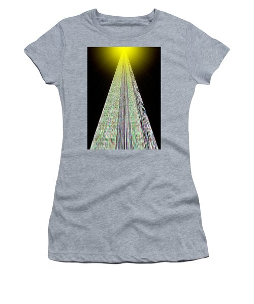 Cross That Bridge Women's T-Shirt (Junior Cut) by Bob Wall
