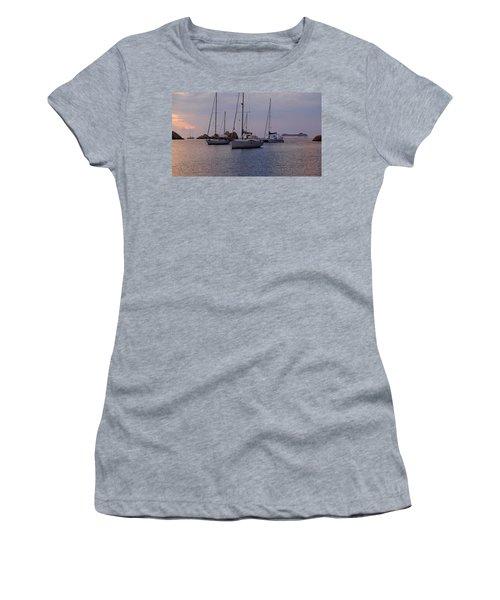 Cruise Liner Passing Women's T-Shirt