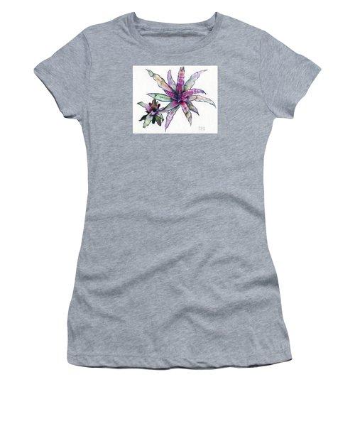 Cryptanthus Richard Lum Women's T-Shirt (Athletic Fit)