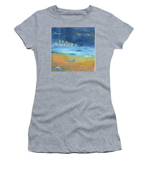 Crystal Deep Waters Women's T-Shirt (Junior Cut) by Michal Mitak Mahgerefteh