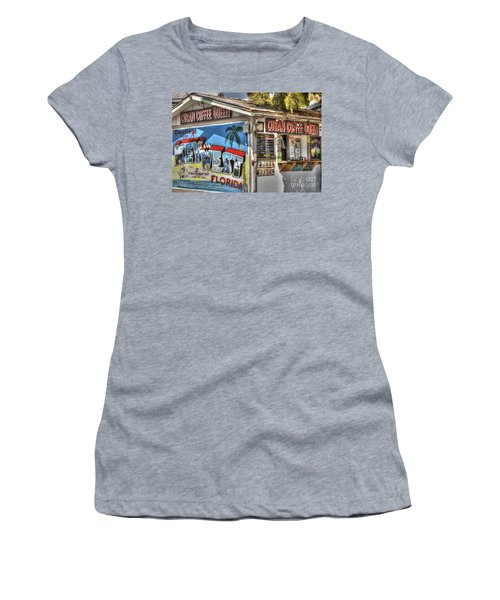 Cuban Coffee Queen Women's T-Shirt (Athletic Fit)