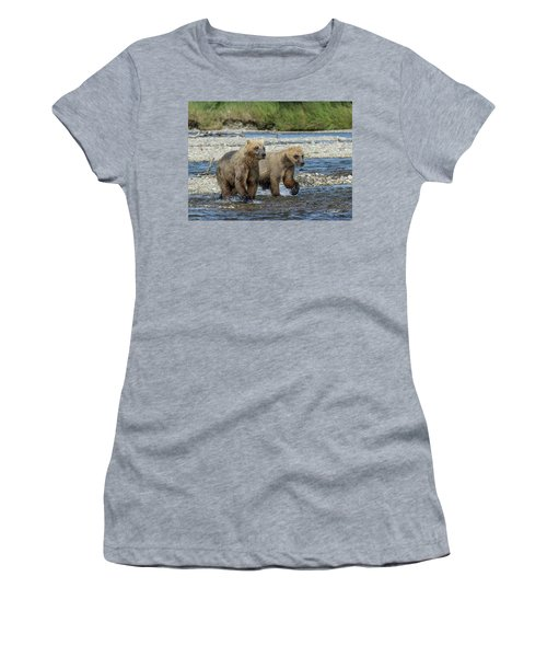 Cubs On The Prowl Women's T-Shirt