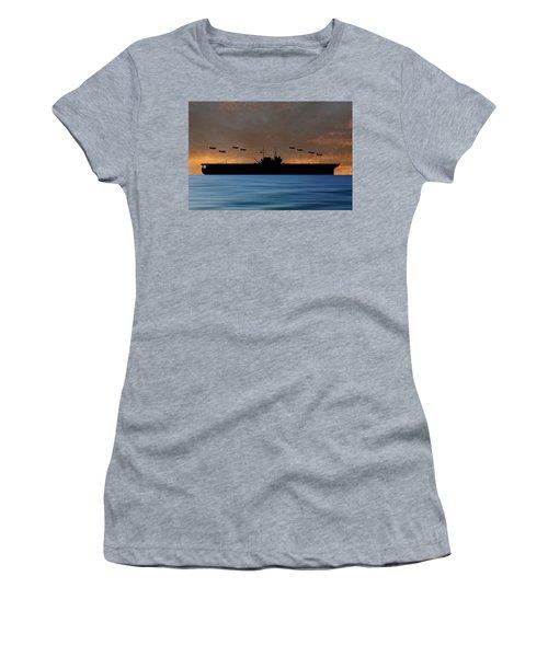 Cus Thomas Jefferson 1932 V3 Women's T-Shirt (Athletic Fit)
