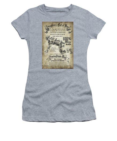 Cutting Human Women's T-Shirt