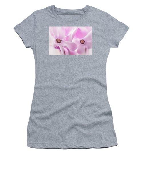 Cyclamen Hearts Women's T-Shirt