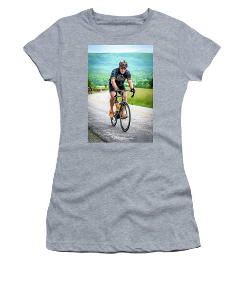 Cyclist Women's T-Shirt (Athletic Fit)