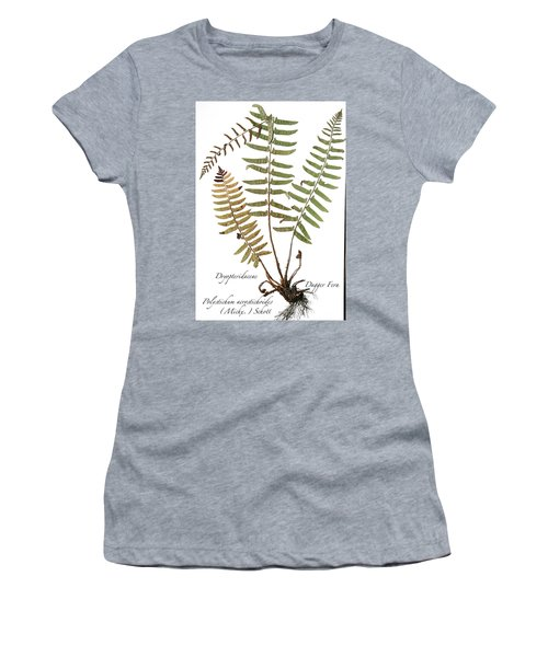 Dagger Fern Women's T-Shirt (Athletic Fit)