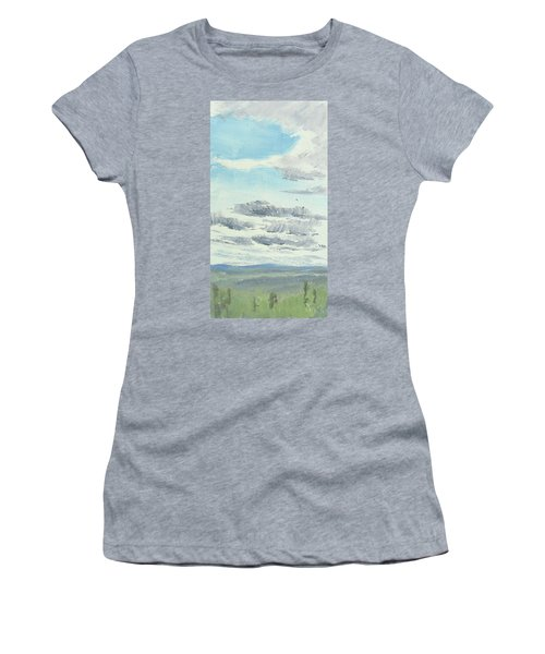 Dagrar Over Salenfjallen- Shifting Daylight Over Distant Horizon 10 Of 10_0029 Women's T-Shirt