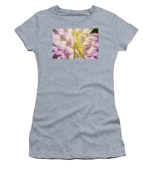Dahlia Study 5 Painterly  Women's T-Shirt (Athletic Fit)