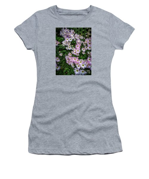 Daisy Patch Women's T-Shirt (Junior Cut) by David Smith