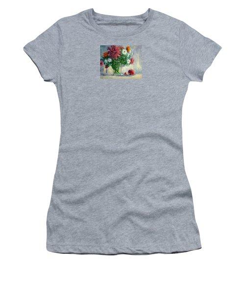 Dalias Women's T-Shirt (Junior Cut) by Jill Musser