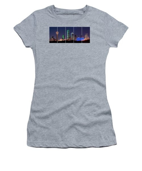 Dallas Png Transparency 031018 Women's T-Shirt (Athletic Fit)