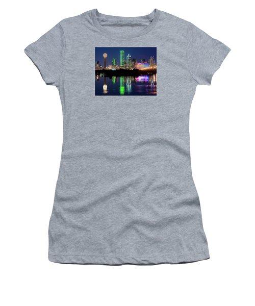 Dallas Skyline Reflection 91317 Women's T-Shirt