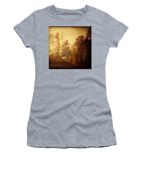 Damals.#herbst #nostalgie #autumn Women's T-Shirt