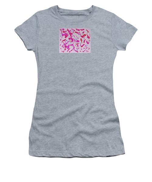 Dance In Pink Women's T-Shirt (Athletic Fit)
