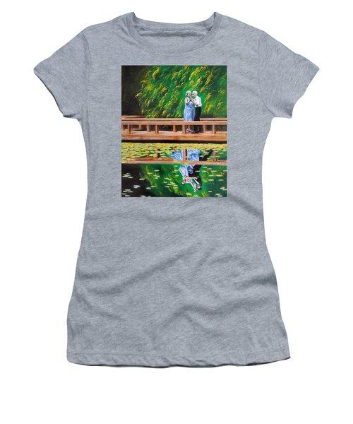 Dance Reflection Women's T-Shirt (Junior Cut)