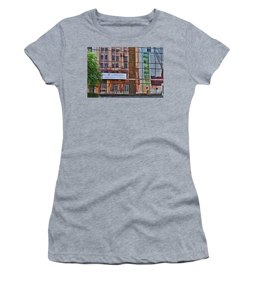 Women's T-Shirt (Junior Cut) featuring the photograph Dance by Skip Willits