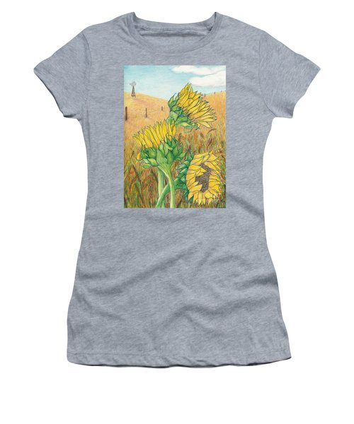 Dancing In The Breeze  Women's T-Shirt (Athletic Fit)