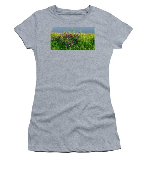 Dancing In The Meadow Women's T-Shirt (Athletic Fit)