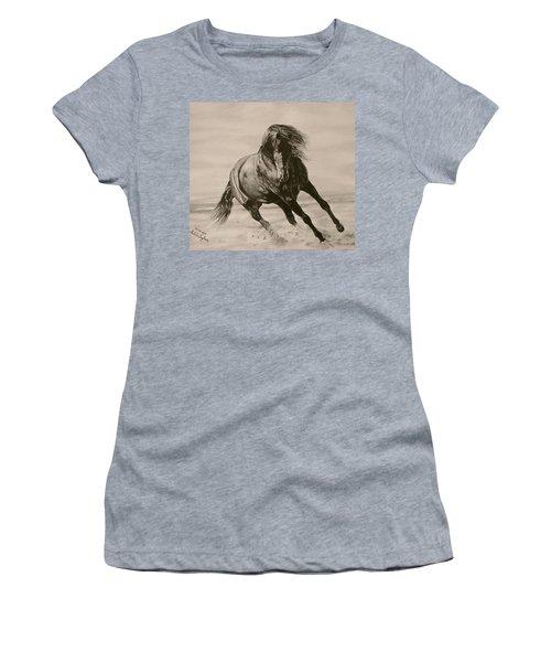 Dancing Pace Women's T-Shirt (Athletic Fit)