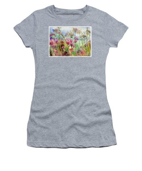 Dancing Thistles Women's T-Shirt