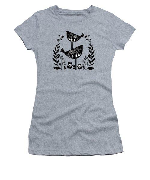 Danish Birds Bring Good Luck And A Good Life Art Print Women's T-Shirt