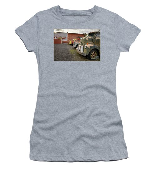 Daves Salvage Women's T-Shirt (Athletic Fit)