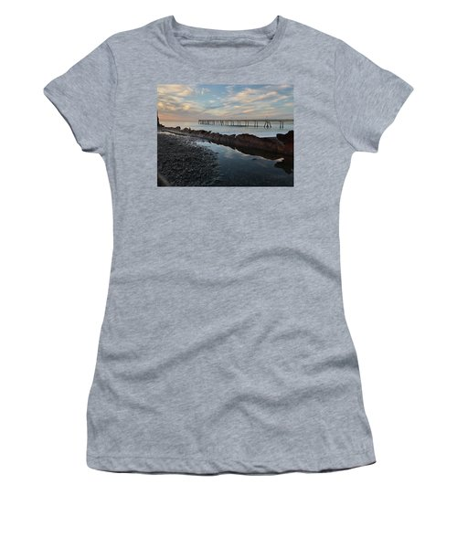 Day At The Pier Women's T-Shirt (Athletic Fit)