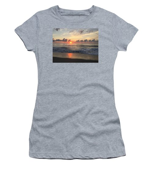 Daybreak At Cocoa Beach Women's T-Shirt (Athletic Fit)