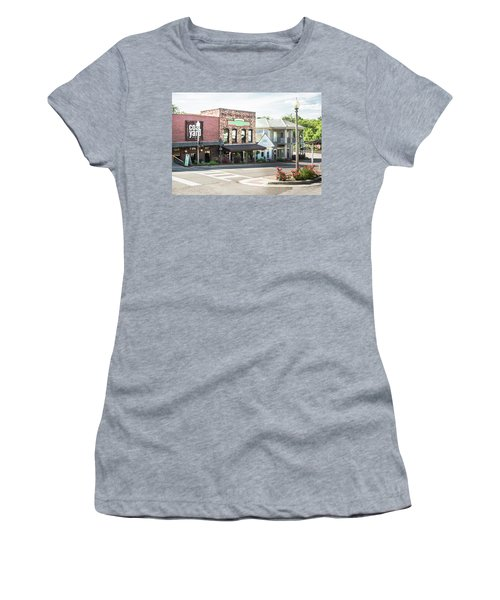 Women's T-Shirt (Junior Cut) featuring the photograph Daytime In Old Town Helena by Parker Cunningham