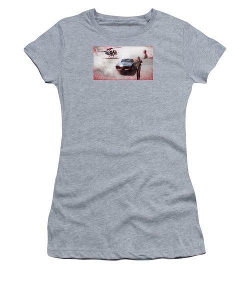 Deadly Pursuit Women's T-Shirt (Athletic Fit)
