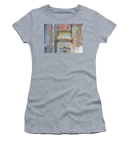 Women's T-Shirt (Junior Cut) featuring the photograph Decay by Jean luc Comperat