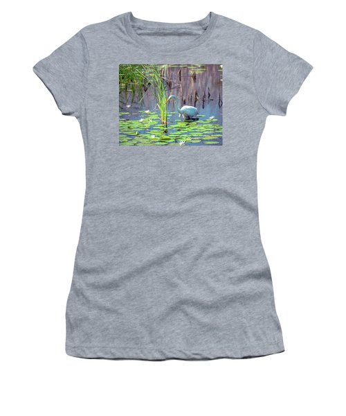 Deep In The Water Women's T-Shirt (Athletic Fit)