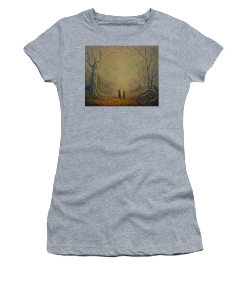 Deep Into The Forest Women's T-Shirt (Athletic Fit)