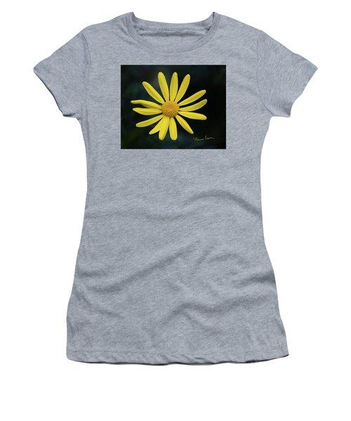 Deep Yellow Flower Women's T-Shirt