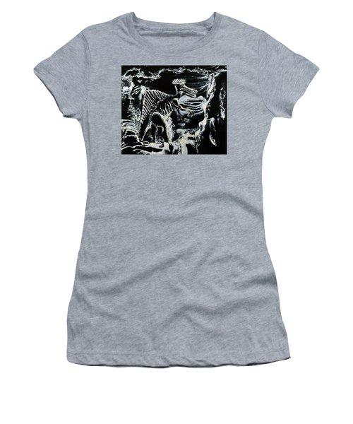Deinos Sauros    Women's T-Shirt (Junior Cut) by Ryan Demaree