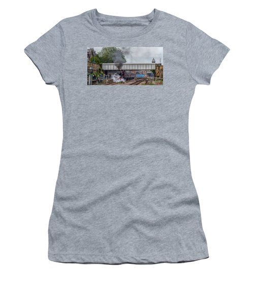 Departing Scarborough Women's T-Shirt (Athletic Fit)