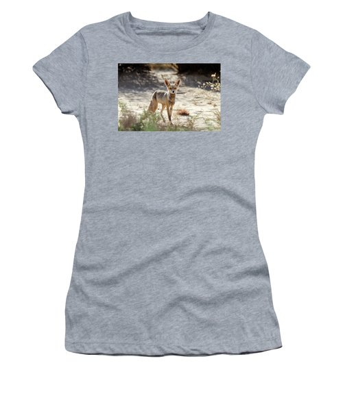 Desert Fox Women's T-Shirt (Athletic Fit)