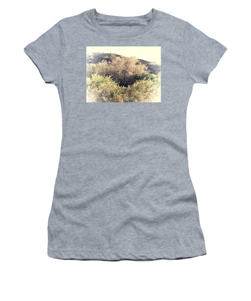 Desert Ironwood Afternoon Women's T-Shirt (Athletic Fit)