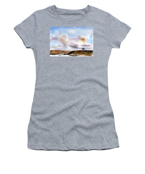 Desert Storm Women's T-Shirt (Junior Cut) by Anne Duke
