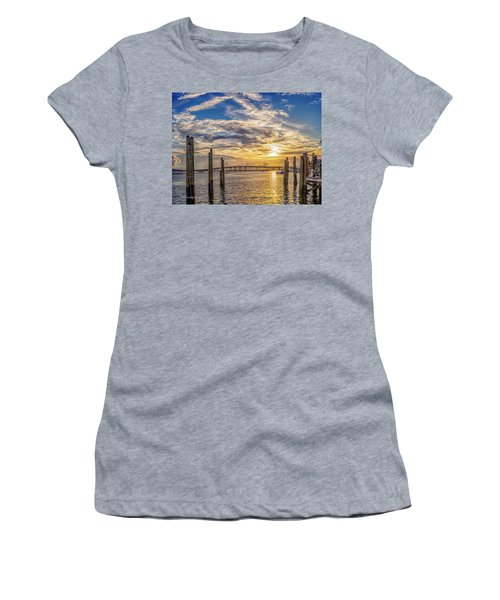 Destin Harbor #1 Women's T-Shirt (Athletic Fit)