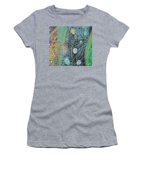 Detail From Creation Of Adam And Eve Women's T-Shirt