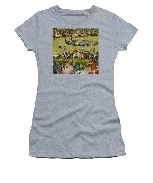 Detail From The Central Panel Of The Garden Of Earthly Delights Women's T-Shirt (Athletic Fit)