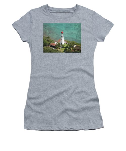Diamond Head Lighthouse 2 Women's T-Shirt (Athletic Fit)